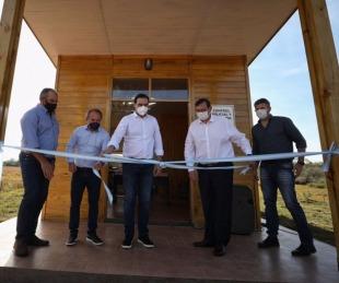 foto: Valdés entregó viviendas e inauguró un Control Policial