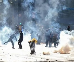 foto: Brasil: disturbios entre seguidores y opositores de Bolsonaro