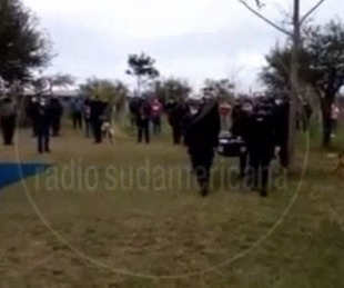 foto: Video: así fue la emotiva despedida del sargento