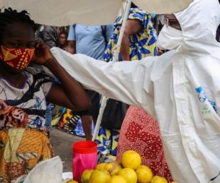 foto: Brote de Ébola le agrega dramatismo a un país en plena pandemia