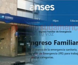 foto: Comienza el pago complementario del IFE en el Correo Argentino