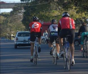 foto: Desde hoy habilitan el ciclismo en Costanera y Parque Mitre