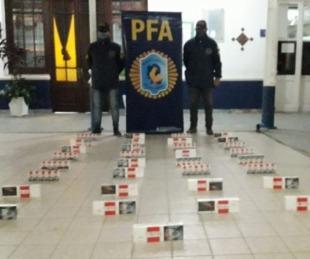 foto: Secuestraron una carga de cigarrillos cotizados en $128.000