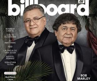 foto: Los Palmeras llegaron a la tapa de la revista