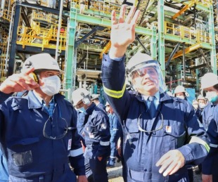 foto: Inauguraron la primera planta refinadora diésel premium del país