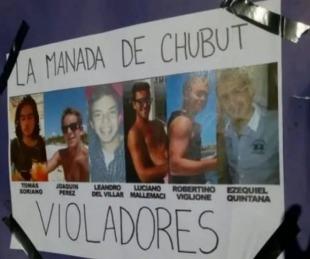 foto: Chubut: fiscal justifica una violación en manada por