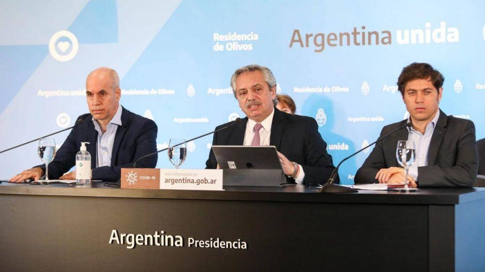 foto: Fernández anuncia este jueves una nueva etapa de la cuarentena