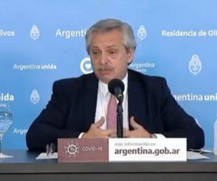 foto: Coronavirus en la Argentina: las frases más destacadas del discurso de Alberto Fernández