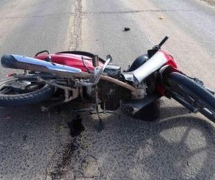 foto: Chocó con una moto, estuvo internado y murió