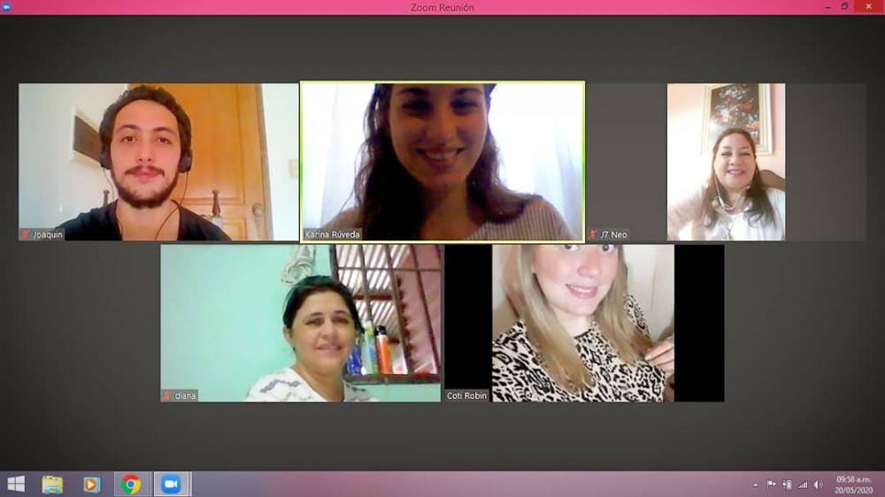 Tertulias Virtuales entre docentes de escuelas correntinas