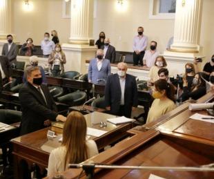foto: Rubén Bassi asumió como senador en el Legislatura correntina