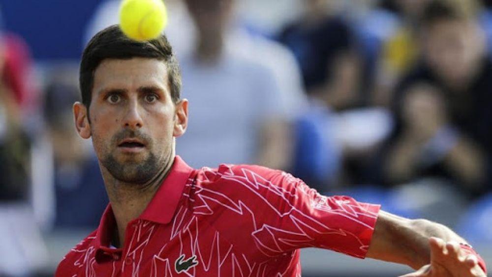 foto: El tenista serbio Novak Djokovic dio positivo de coronavirus