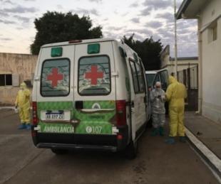 Trasladaron a Capital a una paciente con coronavirus de Saladas
