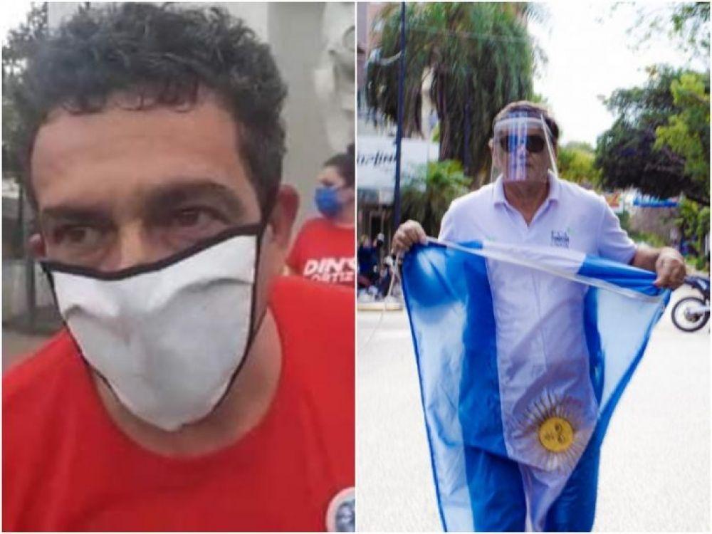 foto: Denuncian a concejal y referente barrial por la marcha anticuarentena