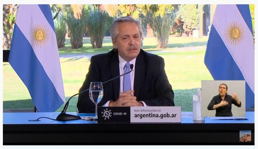 foto: Fernández anunció que Buenos Aires volverá a Fase 1 y dijo Chaco tiene la misma velocidad de contagio