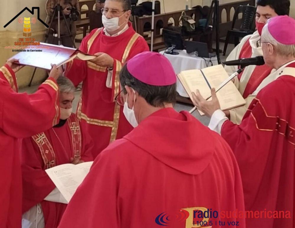 Mons. Larregain es el nuevo Obispo auxiliar de la Arquidiócesis