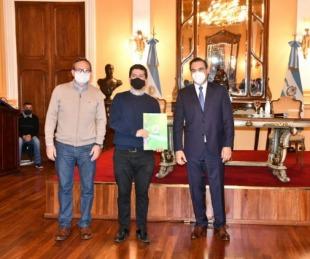 foto: Valdés ratificó el respaldo a las entidades deportivas