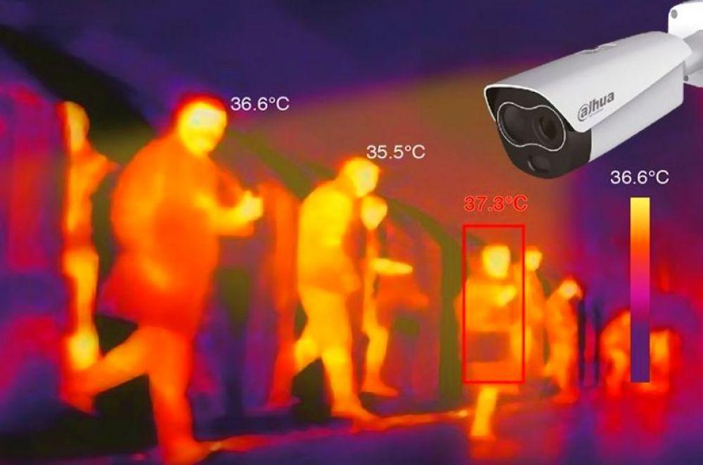 foto: Migraciones instaló cámaras térmicas en dos pasos fronterizos