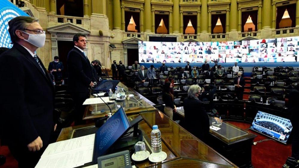 foto: Otro diputado nacional tiene Covid, participó en la sesión del jueves