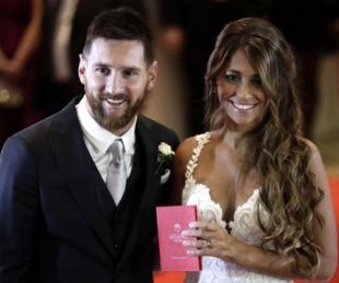 foto: El romántico video que Antonela Roccuzzo le dedicó a Messi