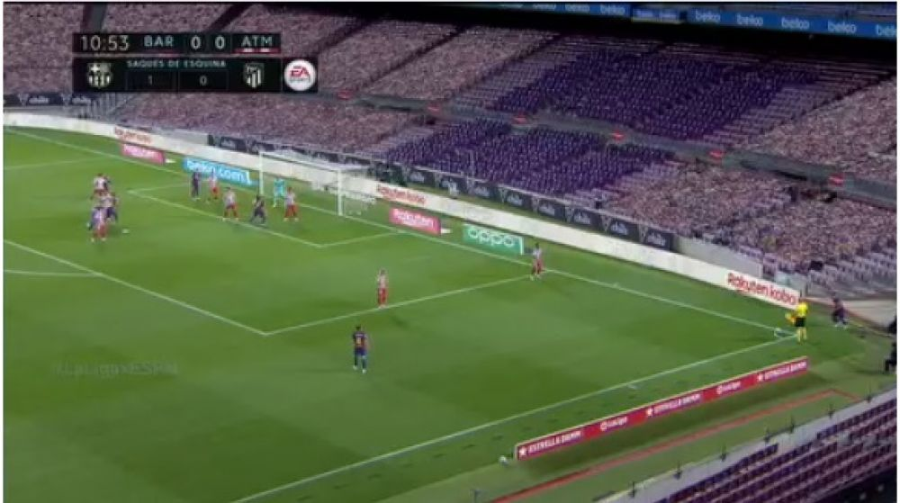 Implementan tecnología virtual en las transmisiones de fútbol