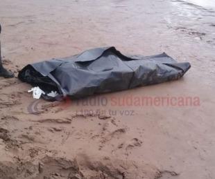 foto: Lograron rescatar el cuerpo del camionero que cayó al Río Bermejo