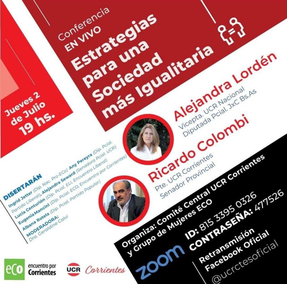 Conferencia sobre Estrategias para una sociedad más igualitaria
