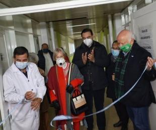 foto: Valdés inauguró una sala para pacientes con Covid–19 en Goya