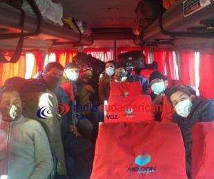 foto: Están varados en la ruta y piden ingresar para realizar la cuarentena