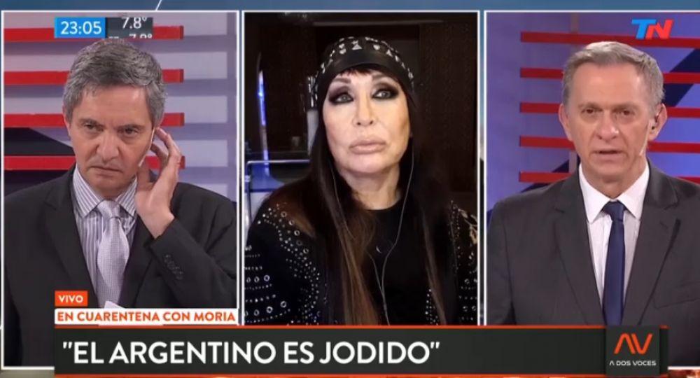 Moria Casán, sin filtro: dijo que a Cristina la ve en pausa