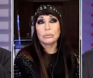 foto: Moria Casán, sin filtro: dijo que a Cristina la ve