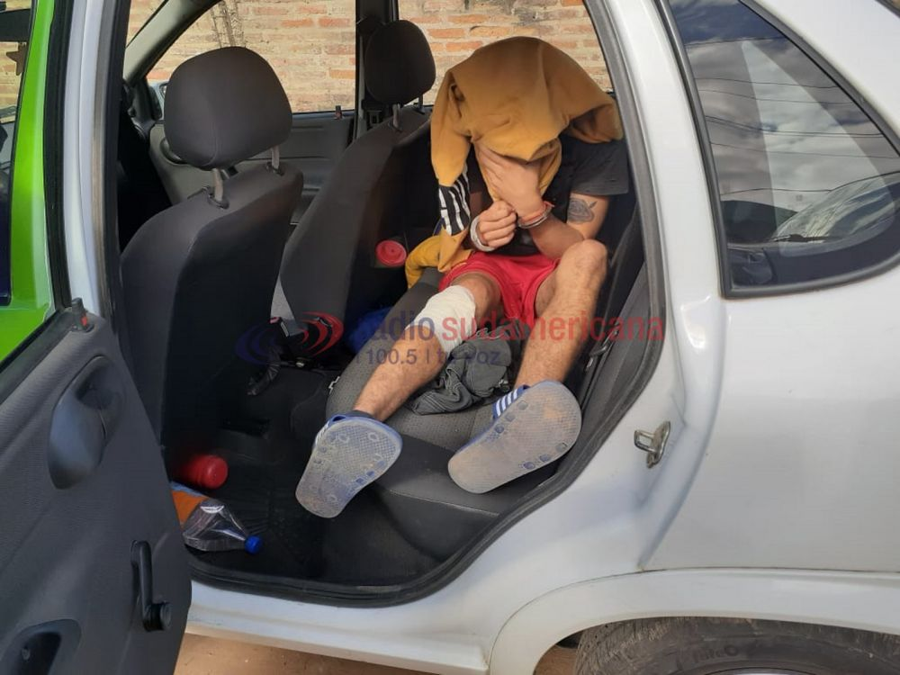 foto: Detuvieron a los motochorros que protagonizaron un tiroteo