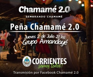 foto: Amandayé, epicentro virtual de la Peña del Chamamé