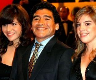 foto: Fuerte audio de Diego Maradona contra Dalma y Gianinna