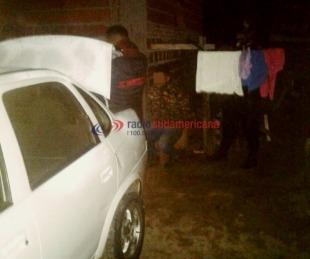 foto: Tras una persecución, detienen un remis con 16 kilos de droga