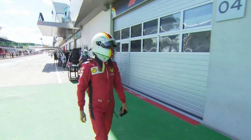 Fórmula 1: papelón de Ferrari en Austria y Vettel, eliminado en clasificación