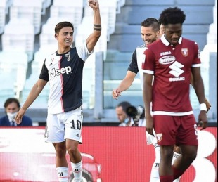 foto: Con golazos de Dybala y Cristiano, Juventus goleó y sigue arriba