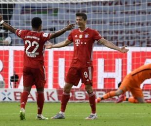 foto: Bayern Munich se consagró campeón de la Copa de Alemania