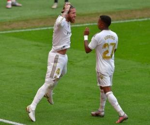 foto: Real Madrid ganó otra vez y sigue como único puntero en España