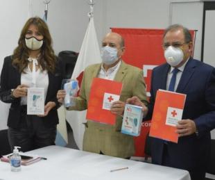 foto: Cruz Roja donó termómetros digitales a provincia y municipio