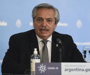 foto: Fernández le deseó a Bolsonaro una