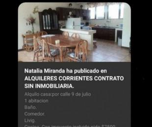 foto: Usan imagen de la casa de Lourdes Sánchez para estafar a locutora