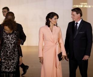 foto: Brasil: esposa e hijas de Bolsonaro dieron negativo por COVID-19