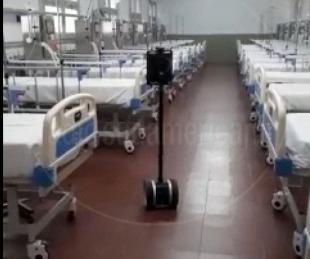 foto: Video: este es el robot que trabajará en el Hospital de Campaña