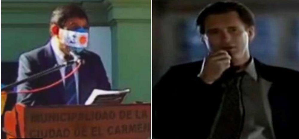 Un intendente copió el discurso de la película Día de la Independencia