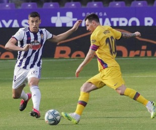 foto: Barcelona ganó 1 a 0 y no se baja de la pelea por la liga