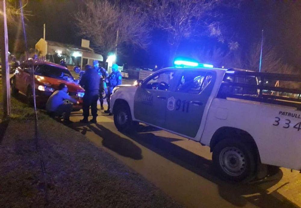 Tras breve persecución, demoraron a conductor alcoholizado