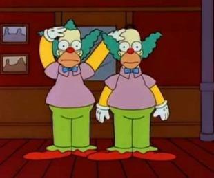 foto: El secreto de Los Simpson: ¿por qué Homero y Krusty son idénticos?