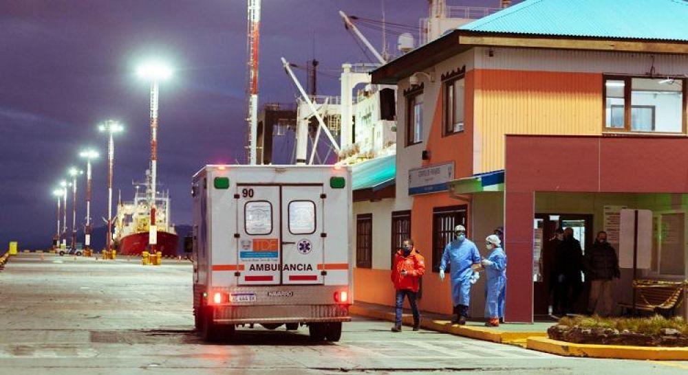 57 tripulantes de buque pesquero dieron positivo a Covid:  hay correntinos