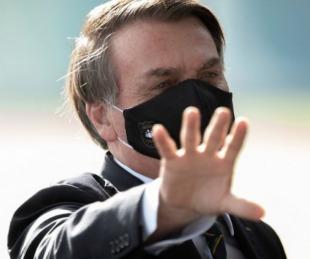 foto: Jair Bolsonaro dijo que un nuevo test le volvió a dar positivo